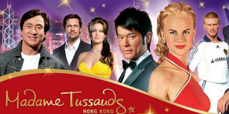 Hong Kong Madame Tussauds admission ticket by muslimcuti