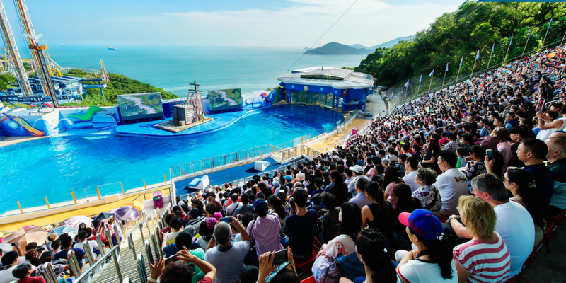 Hong Kong Ocean Park ENtrance Ticket by Muslimcuti