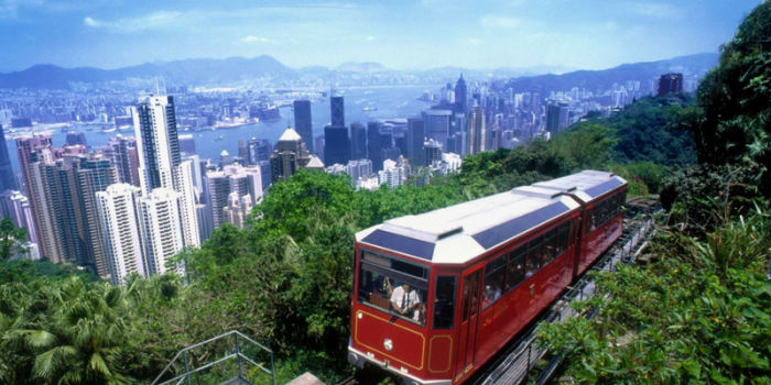 Hong Kong The Peak Tram Ride 800×400