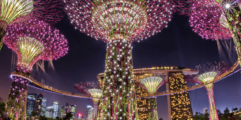 Singapore Garden By The Bay Entrance ticket by muslimcuti