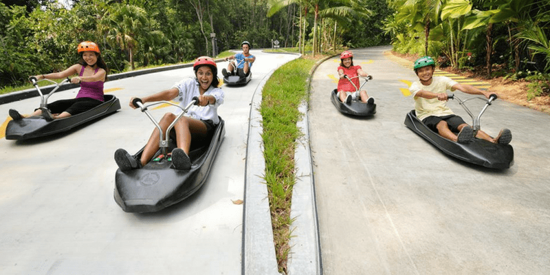 Singapore Sentosa Skyline Luge admisstion ticket by muslimcuti