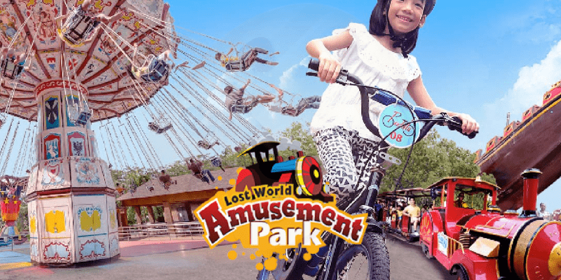 Sunway Lost World of Tambun Theme Park and Spa Ticket by muslimcuti