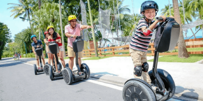 Singapore Sentosa Gogreen Segway Eco Adventure Admission ticket by muslimcuti