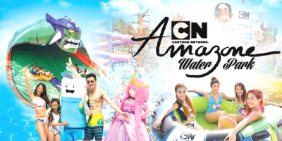 Pattaya Cartoon NetWork Amazone Water Park ticket by muslimcuti