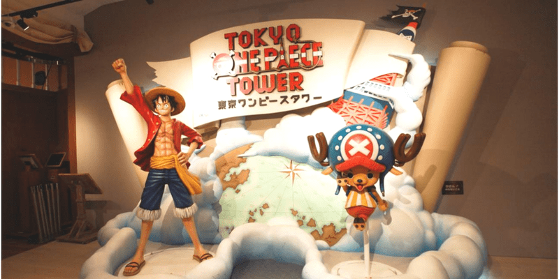 Tokyo One Piece Tower Admisstion ticket by muslimcuti