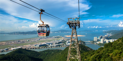 Hong Kong Ngong Ping Day Tour for muslim