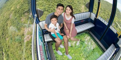 Ngong Ping 360-2Ways Crystal Cable Car