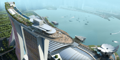 Singapore Marina Bay Sands Skypark Entrance Pass by muslimcuti