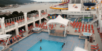 Genting Dream Swimming Pool