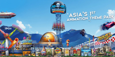 Ipoh Movie Animation Park admission ticket by muslimcuti