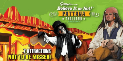 Pattaya Ripley's Believe It or Not ticket by muslimcuti