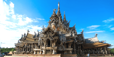 Thailand Sanctuary of Truth Pattaya admissions ticket by muslimcuti
