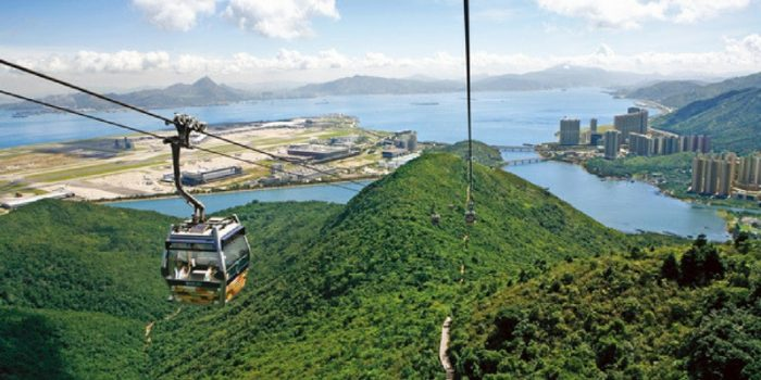 Hong Kong Ngong Ping 360 Cable Car Pass by muslimcuti